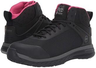 Timberland Drivetrain Mid Composite Safety Toe ESD (Black) Women's Boots
