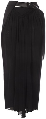 Louis Vuitton Black Viscose Skirts