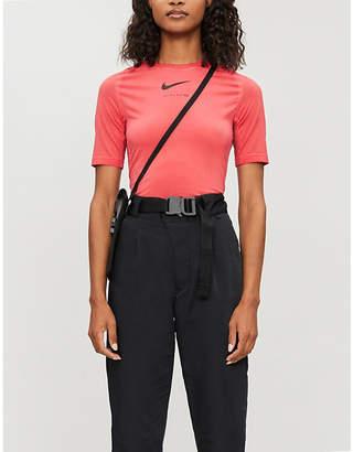 Alyx x Nike short-sleeved stretch-jersey T-shirt
