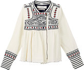 Scotch R'Belle Embroidered Cotton Jacket