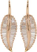 Anita Ko Large Diamond Palm Leaf Drop Earrings
