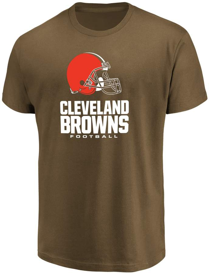 Majestic Big & Tall Cleveland Browns Team Color Tee