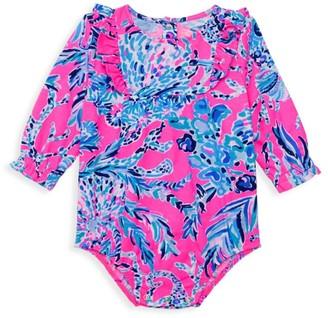 Lilly Pulitzer Baby Girl's Velma Print Bodysuit