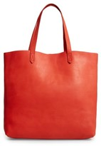 Madewell 'Transport' Leather Tote - Red