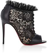 Christian Louboutin Women's Henriettra Lace & Leather Booties