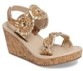 Jack Rogers Girl's 'Miss Luccia' Wedge Sandal