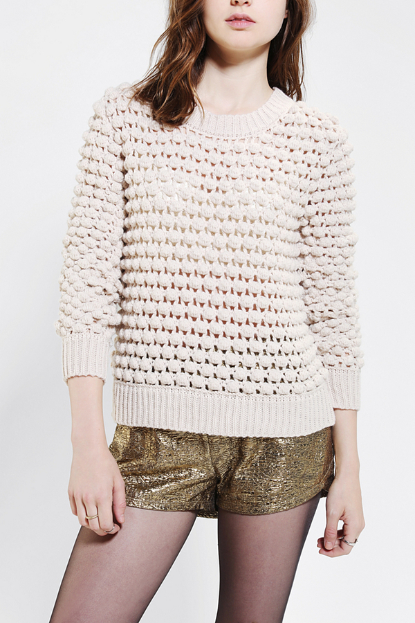 Urban Outfitters Lucca Couture Chunky Bauble Sweater