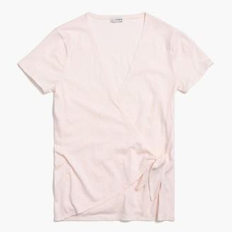 J.Crew Wrap-tie T-shirt