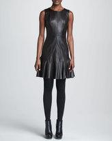 Paule Ka Leather Dress