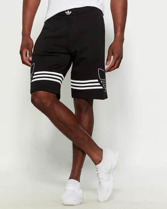 adidas Outline Basketball Shorts