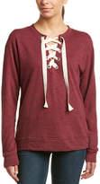 Elan International Lace-Up Sweatshirt