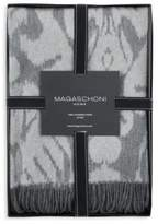 Magaschoni Damask Cashmere Throw