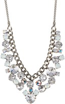 Sorrelli Round Crystal Cluster Bib Necklace