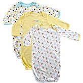 Luvable Friends Baby Gowns, 3 Pack