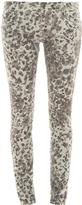 Current/Elliott Leopard Skinny Jeans