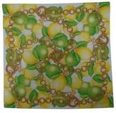 Celine Yellow Cotton Scarf