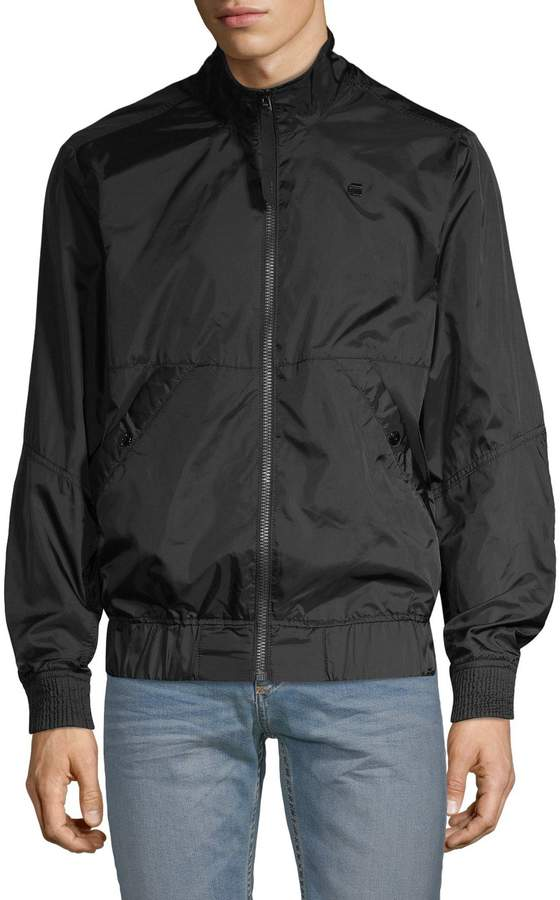 76aaabc5b Raw Mockneck Full-Zip Jacket