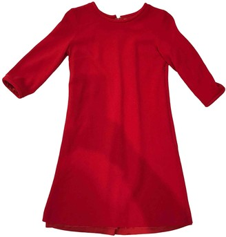 Goat Red Wool Dress for Women