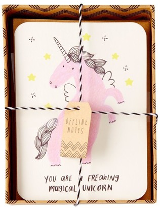 Papyrus Magical Unicorn Boxed Notes, Set of 10