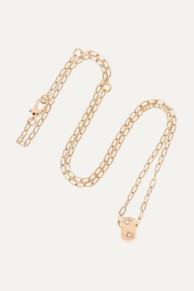 Pomellato 18-karat Rose Gold Diamond Necklace