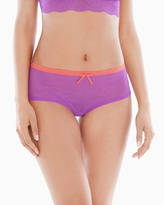Soma Intimates Fancies Sheer Lace Hipster Short Panty