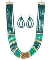 Ananda Beaded Statement Necklace Set
