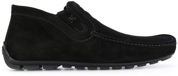 Baldinini square toe loafers