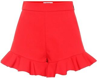 MSGM Stretch-crepe shorts