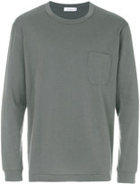 The North Face chest pocket sweatshirt