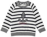 Petit Bateau Baby boys sailor-striped sweatshirt