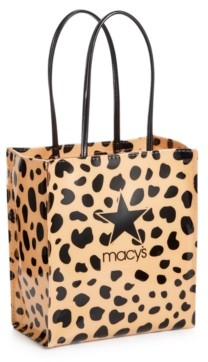 Dani Accessories Camel Leopard Logo Lunch Bag, Created for Macy's