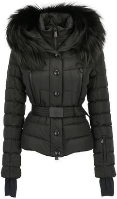 MONCLER GRENOBLE Hooded Fur Trimmed Puffer Jacket