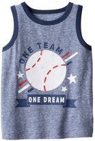 "Jumping Beans Baby Boy Jumping Beans® ""One Team One Dream"" Baseball Snow Nep Tank Top"