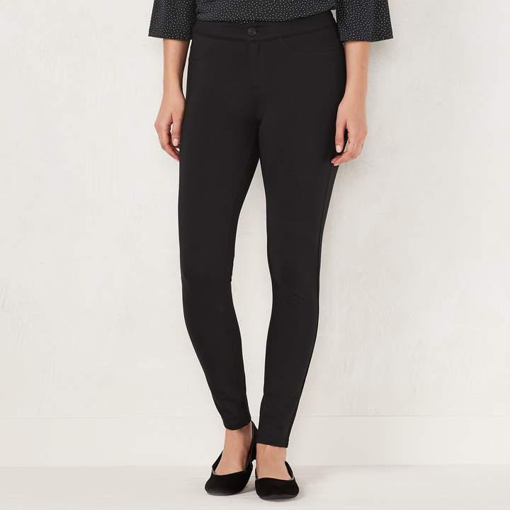 afd70270e0bb Rayon Nylon Spandex Black Skinny Pants - ShopStyle