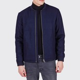Minimum Themis Zip-Up Bomber Jacket with Collar