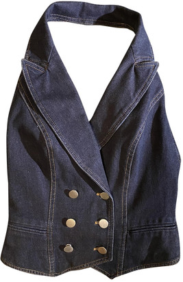 Christian Dior Blue Denim - Jeans Tops