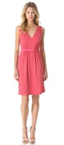 Philosophy di Alberta Ferretti Sleeveless Cinched Dress