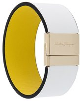 Salvatore Ferragamo leather cuff