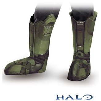 Halo Master Chief Boot Covers Child