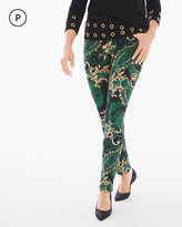 Chico's Pull-on Scroll Jeggings