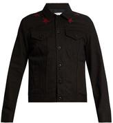 Givenchy Star-appliqué Denim Jacket