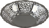 One Kings Lane Vintage Pierced Silver-Plate Dish, C. 1940