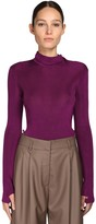 Petar Petrov VISCOSE KNIT SWEATER