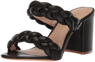 Rachel Zoe Women's Demi Sandal Braid Heeled