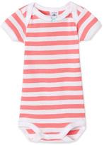 Petit Bateau Baby girls striped bodysuit