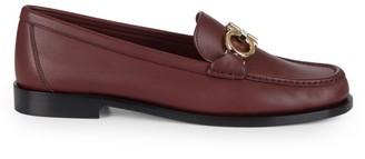 Salvatore Ferragamo Rolo Leather Loafers