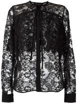 Elie Saab pussybow lace shirt