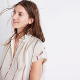 Madewell Central Shirt in Schulner Stripe