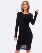 Sass Tinley Mesh Dress