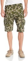 G Star Men's Rovic Art Loose 1/2 Premium Twill Beach Camo Short